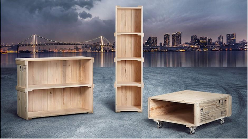 Schläfle Trittibach: Wenn Möbel über Welterfahrung verfügen