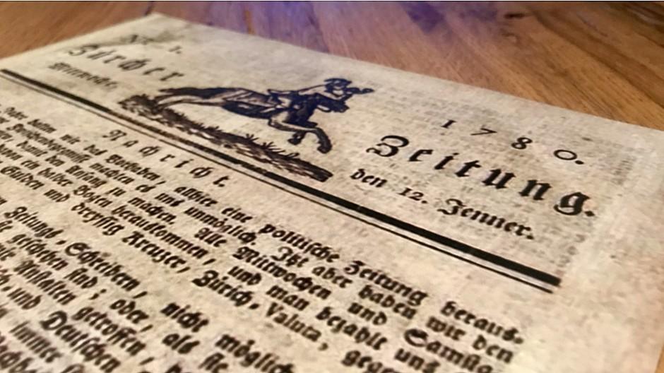 Neue Zürcher Zeitung: Die NZZ verschenkt ihr Printarchiv