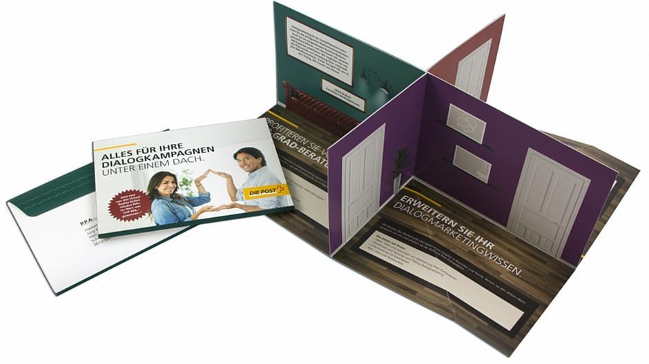 Agentur am Flughafen: Die Postberatungen als Pop-up-Mailing