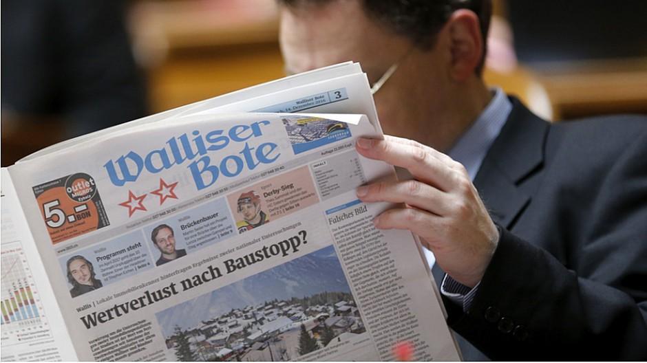 Mengis Druck und Verlag: «Walliser Bote» wird nun bei Tamedia gedruckt