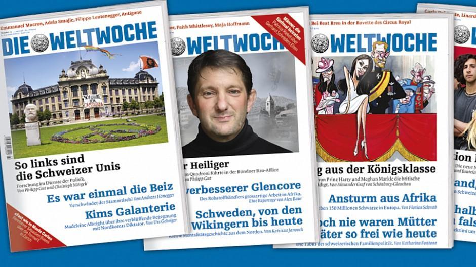 Weltwoche: Duo von der «Basler Zeitung» eingewechselt