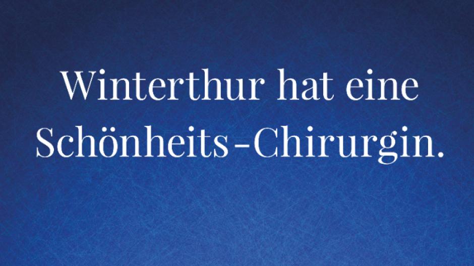 Werbestadt: Kampagne für ein ästhetisches Winterthur