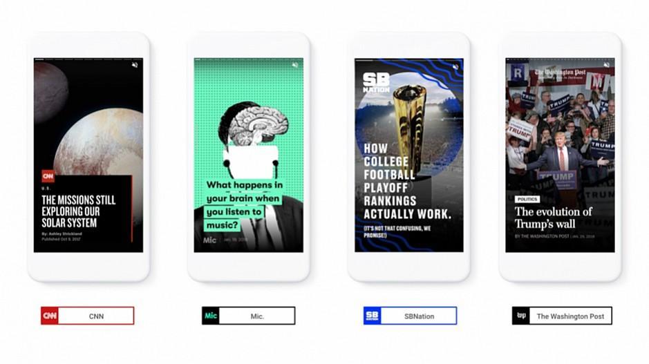 Google: Eigene Version von Snapchat-Storys lanciert