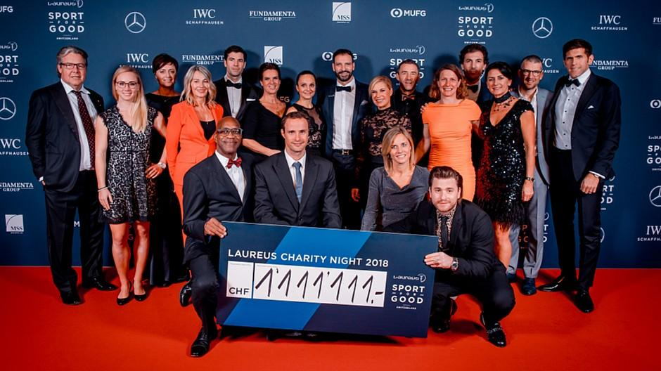 Laureus Charity Night 2018: Ein Abend im Zeichen der Familie