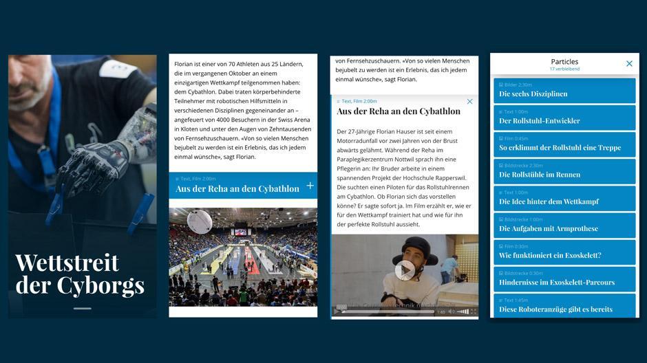Digital News Initiative: Ein Artikel, der sich dem Leser anpasst