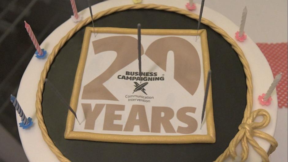 Business Campaigning: Ein Fest zum 20-Jahr-Jubiläum