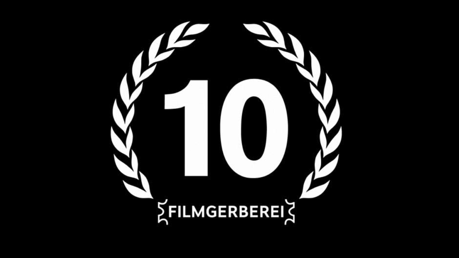 Filmgerberei: Ein Hoch auf das 10-Jahr-Jubiläum