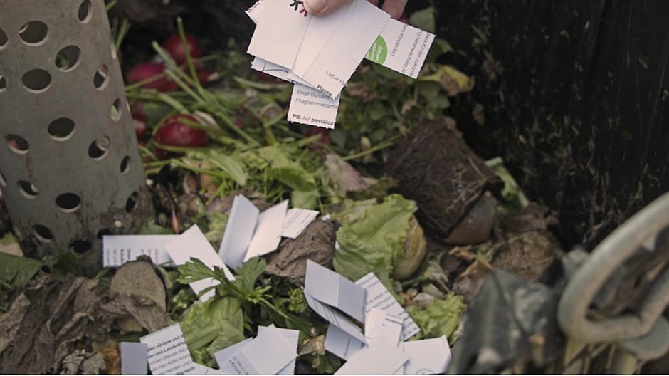 Agentur am Flughafen: Ein kompostierbares Spendenmailing
