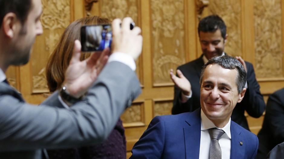 Ignazio Cassis zum neuen Bundesrat gewählt