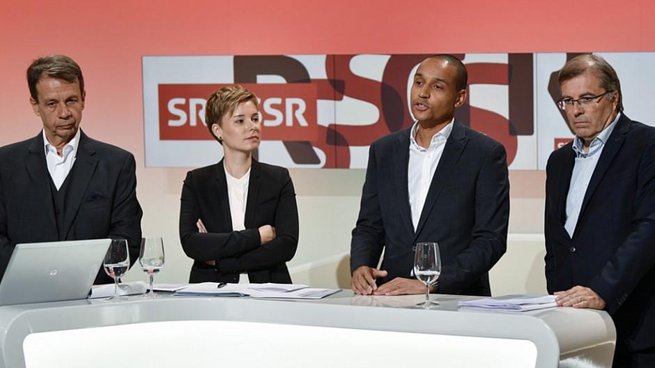 SRG: Ein neues Führungsteam am Start