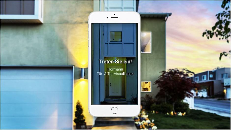 Binary One: Ein Tür- und Tor-Visualisierer für Hörmann