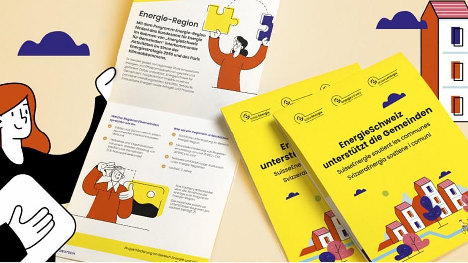 Agence Trio: Eine Broschüre, die unter Strom steht