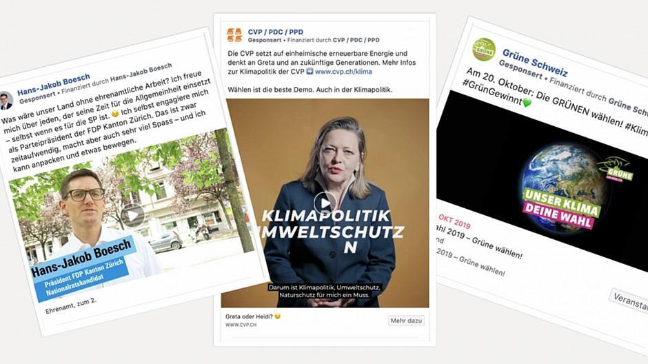 Wahlwerbung: Eine Million Franken für Social Media