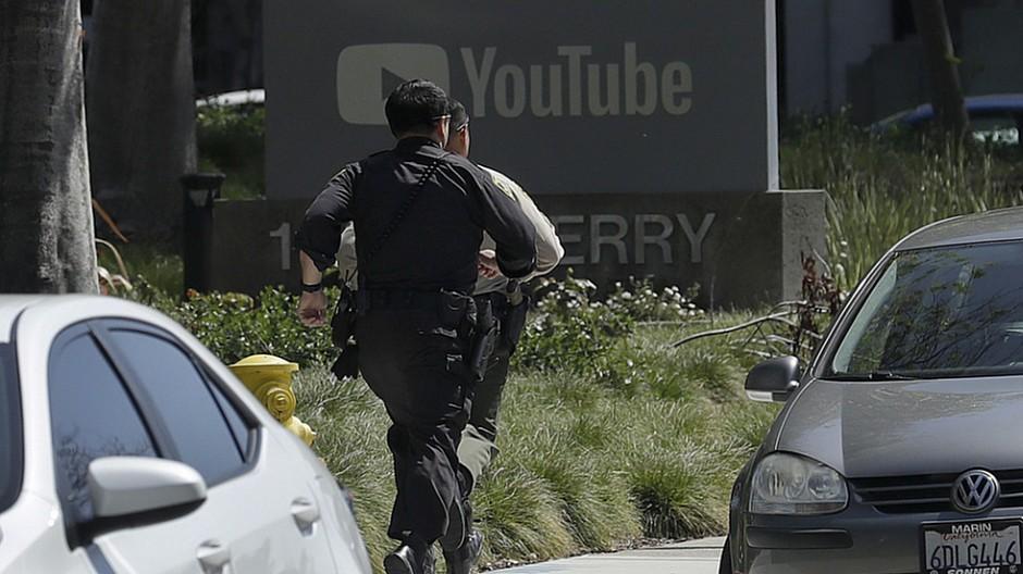 YouTube: Eine Tote und vier Verletzte nach Schiesserei