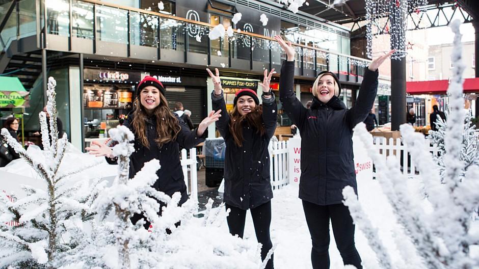 Foundry: Eine virtuelle Schneeballschlacht mitten in London