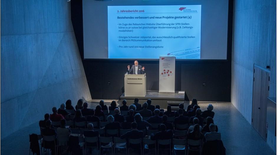 PR Suisse: Einheitliches Berufsbild als Ziel vorgenommen