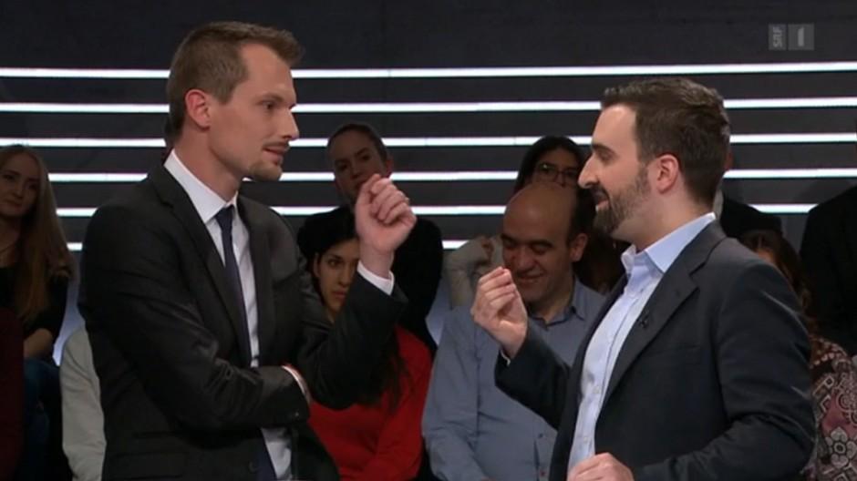 No Billag: Eklat vor der SRF-Abstimmungs-«Arena»