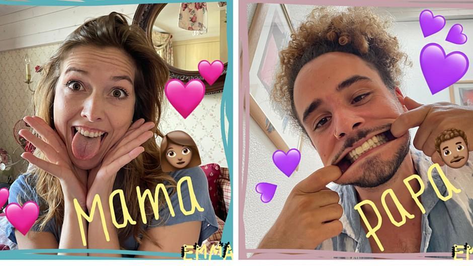 Internet-Privatsphäre: Emma zeigt ihre verrückte Familie
