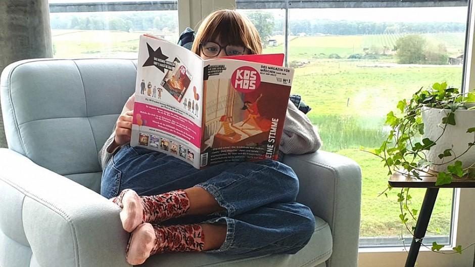 Kosmos: Erfolgreiches Crowdfunding für Mädchenmagazin