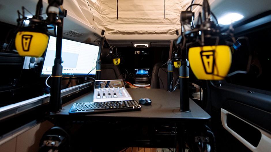 Audiokanzlei: Erstes mobiles Podcast-Studio der Schweiz