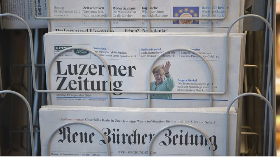 CH Media: Ost- und Zentralschweiz ohne Zeitungen