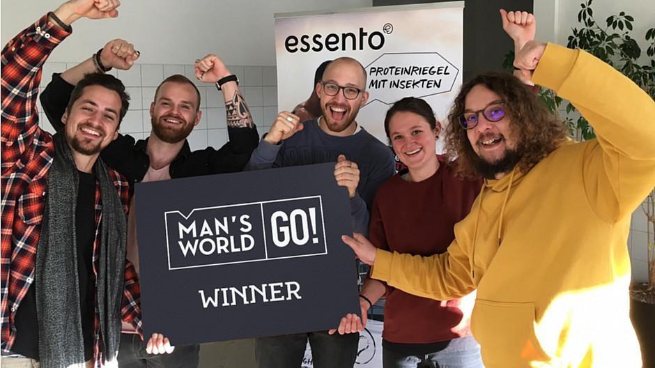 Man's World: Essento gewinnt die Start-up-Challenge