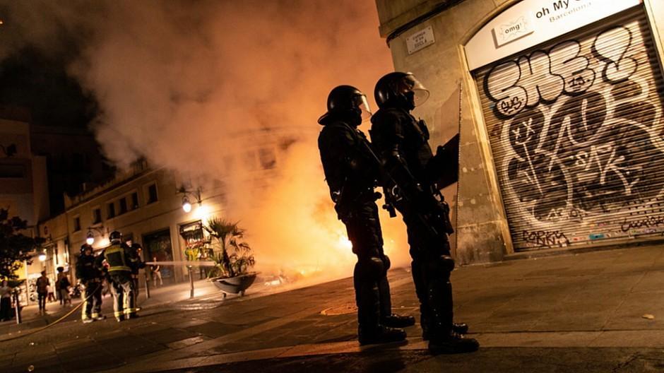 Spanien: Europarat beklagt Gewalt gegen Journalisten