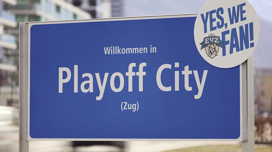 James Communication: EV Zug gründet die «Playoff City»
