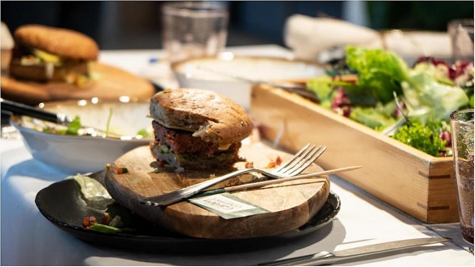 Promotion-Tools: Event für Nestlés veganen Burger inszeniert