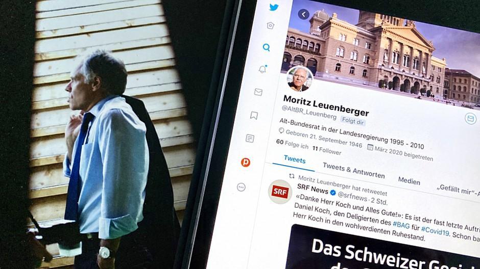 Twitter: Falscher Account von Moritz Leuenberger