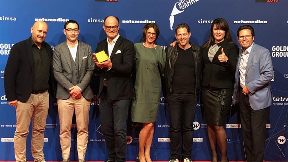 Crossmedia Award 2018: Farner gewinnt Gold mit «Made Visible»