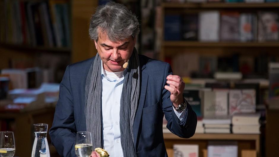 Matthias Ackeret: Feierliche Erstlesung aus «Eden Roc»