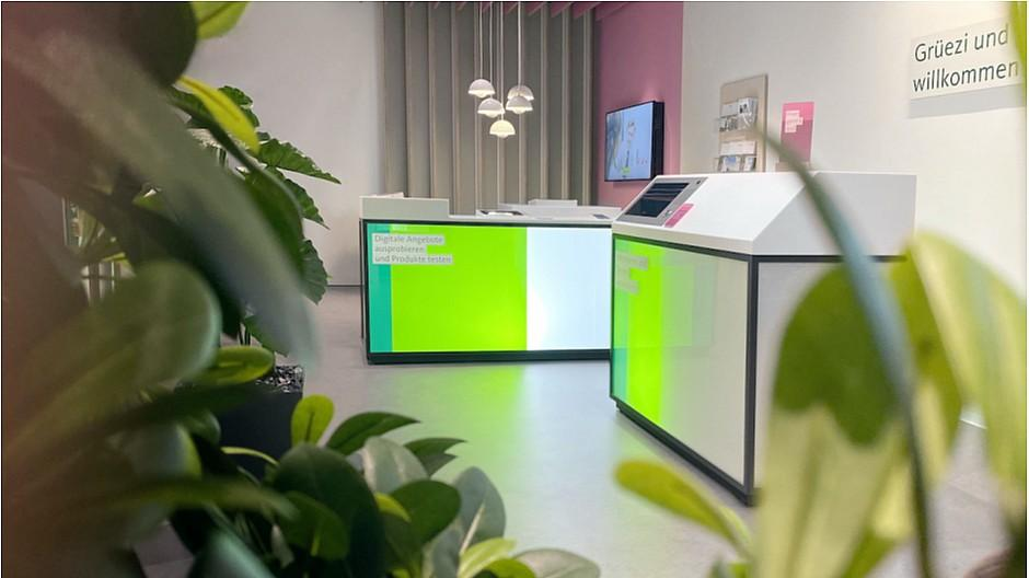 MetaDesign: Filialen der Migros Bank neu inszeniert