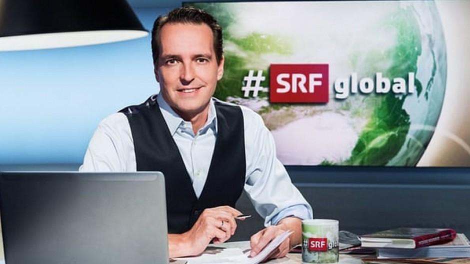 SRF: Florian Inhauser gibt die Moderation von «#SRFglobal» ab
