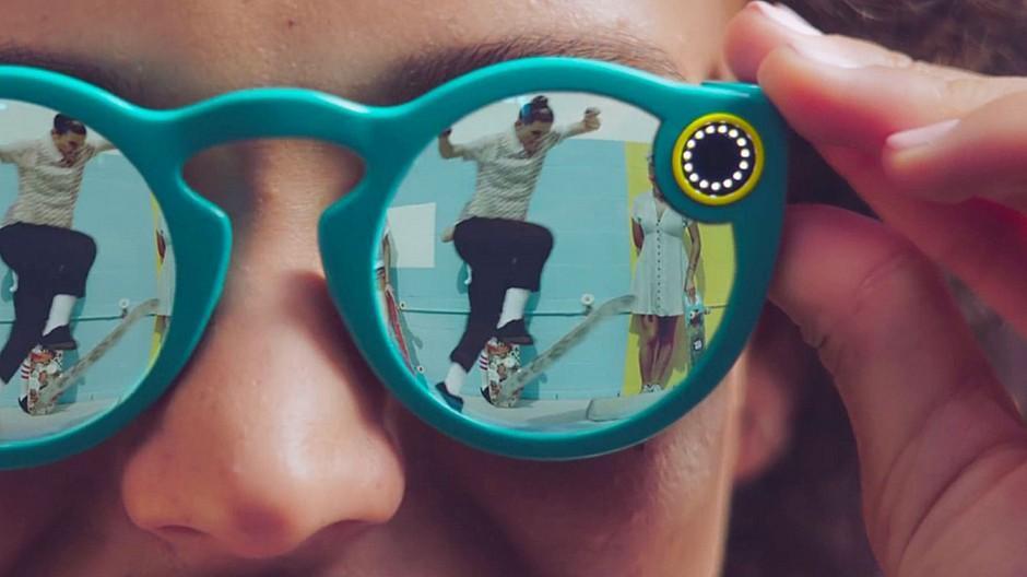 Snapchat: Foto-Sharing-Dienst stellt Sonnenbrille mit Kamera vor