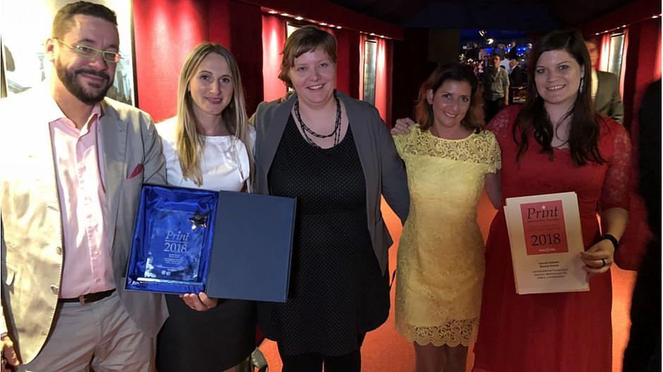 Liechtensteiner Vaterland: «Frauenland» gewinnt Print Innovation Award