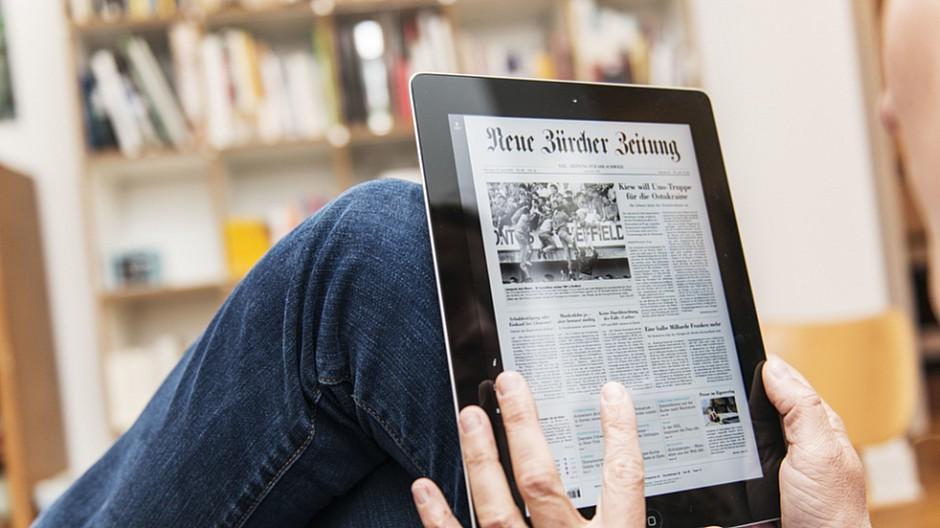 NZZ-Mediengruppe: Fünf Prozent mehr Bezahlkunden in einem Jahr