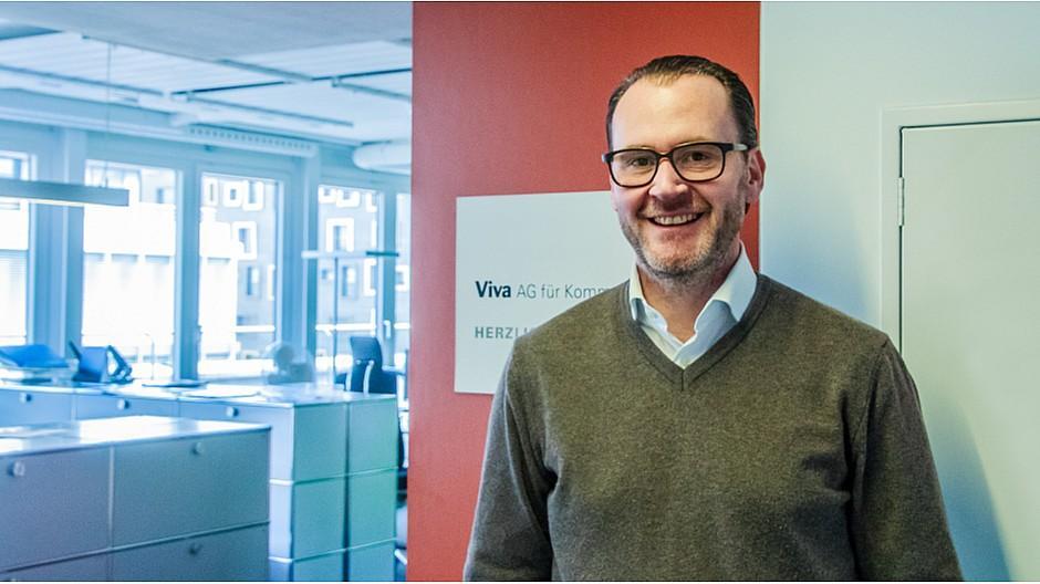 Viva: Gert Schröder neu in der Geschäftsleitung