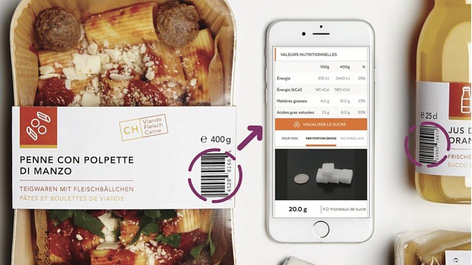 Le Matin: Kalorien zählen mit «Openfood»
