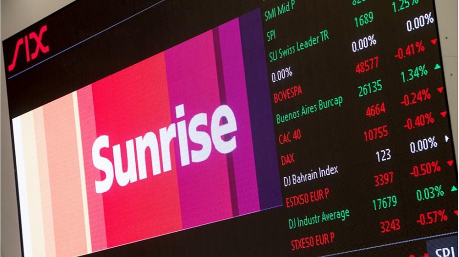 Sunrise: Gewinn von 87 Millionen Franken verzeichnet