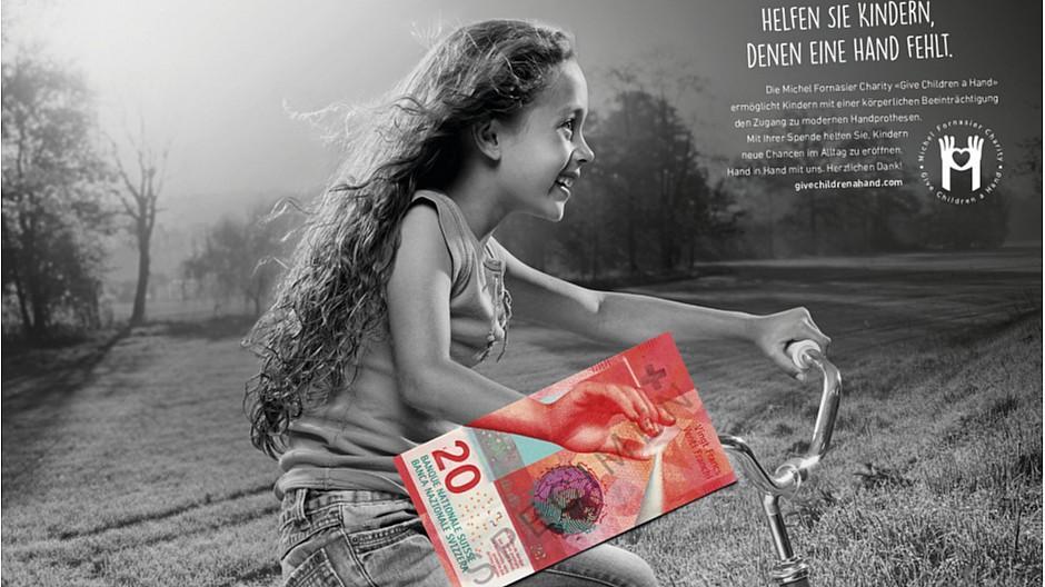 Ruf Lanz: «Give Children a Hand» schafft es ins Lürzers
