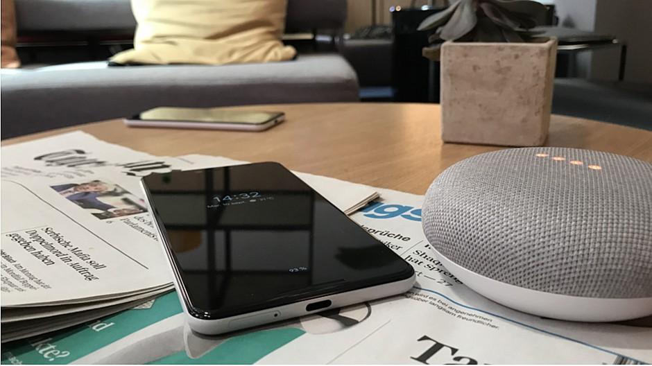 Sprachassistenten: Google liest aus dem Tagi vor