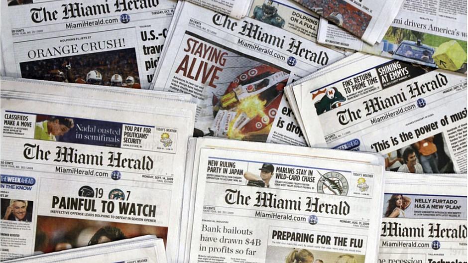 McClatchy: Grosse US-Zeitungsgruppe beantragt Insolvenz