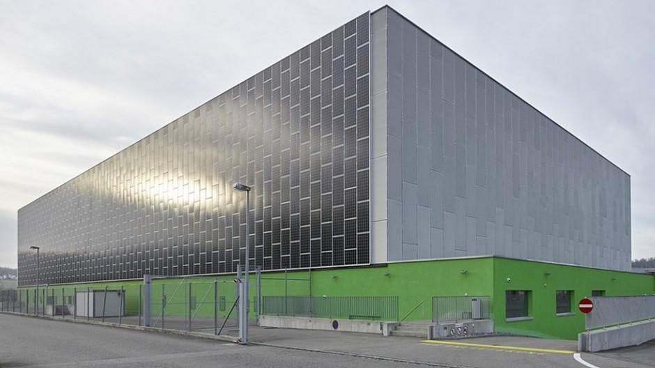 Green: Grösstes Datenzentrum der Schweiz eröffnet