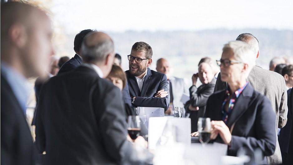 Swiss Marketing Forum: Häppchen, Keynotes und viele Gespräche
