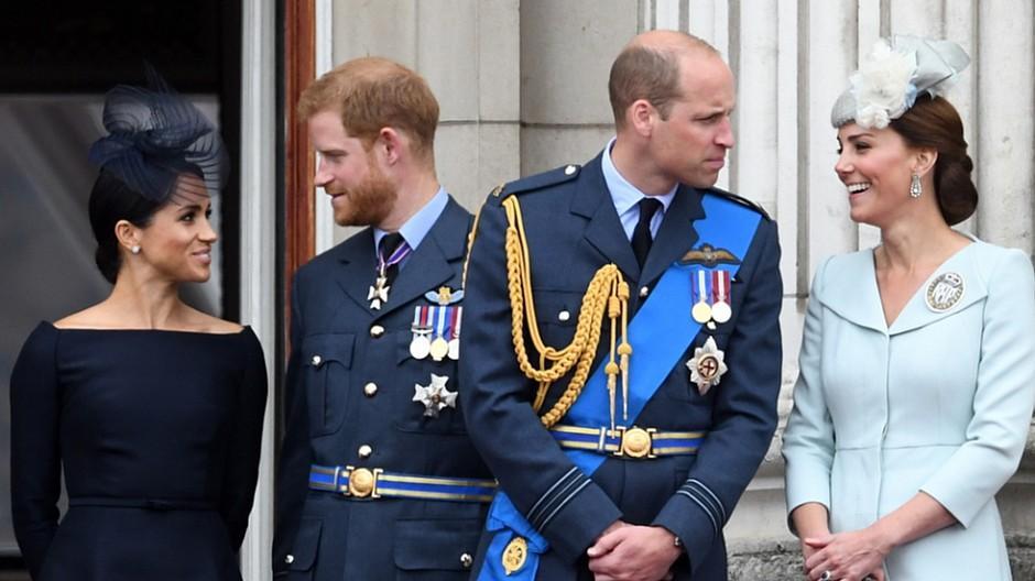 Britische Royals: Harry und William kritisieren «Falschmeldung»