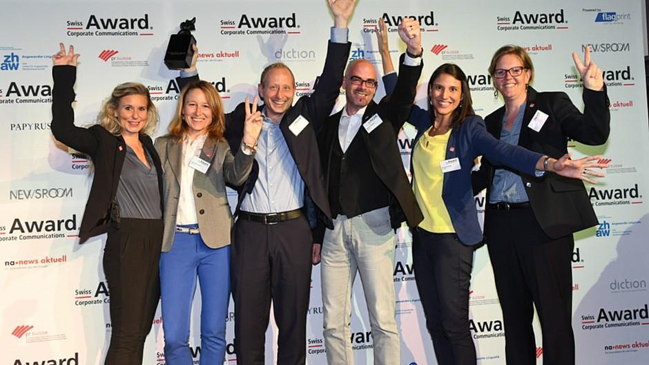 Swiss Award Corporate Communications: Hauptpreis geht an «Gottardo 2016» der SBB