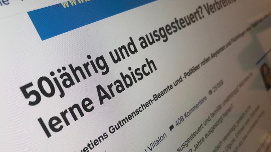 Inside Paradeplatz: «Hetzartikel» gegen Flüchtlinge verbreitet
