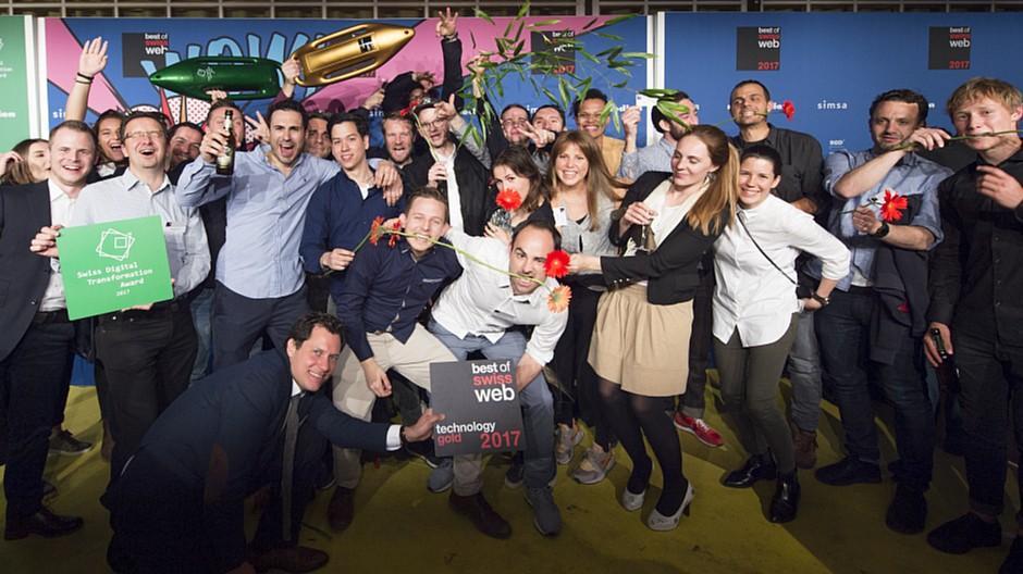 Best of Swiss Web: Hinderling Volkart bestätigen Spitzenplatz