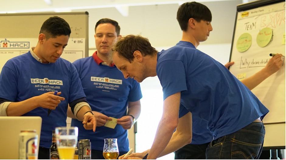 Feldschlösschen: Im 24-Stunden-Marathon Bierideen entwickelt